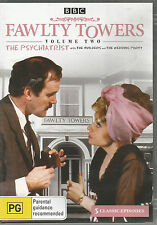 Fawlty Towers The PSYCH. Builders, Wedding : Vol 2 John Cleese..DVD .. Reg 4...