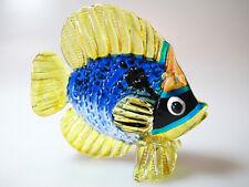 Aquarium Handicraft MINIATURE HAND BLOWN Art GLASS Fish FIGURINE Collection