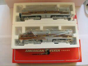 "American Flyer 6-48126/27 ""SILVER FLASH"" ALCO DIESEL PA-1 SET  ""NEW"" in ORIG BOX"