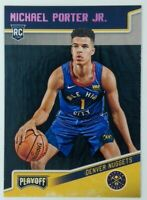 2018-19 Panini Chronicles Playoff Pink Michael Porter Jr. Rookie RC #171