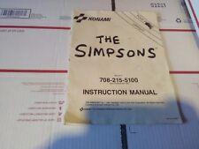 simpsons arcade service manual #2