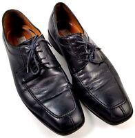 Sandro Moscoloni Shoes Mens 9.5 D Davis Black Leather Oxford Comfort Split Toe