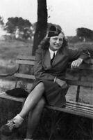 Soldier wermaht Uniform Female WW2 World War 4x6 inch D