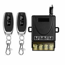 DONJON Wireless Remote Switch,AC 110V/220V/230V/240V RF Remote Control Light