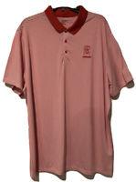 Nike Golf Dri-Fit Scottsdale TPC Adult XXL Red White Stripe