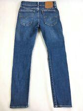 Levi's Premium 519 Big E Slim Fit Straight Leg Denim Blue Jeans - Men's 31 x 30