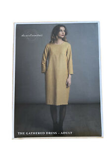 The Gathered Dress By The Avid Seamstress Sewing Pattern UK Size 6-22