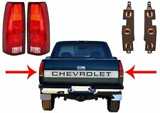 Replacement Rear Tail Lights 1988-1998 Chevrolet/GMC Trucks New Free Shipping