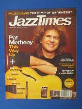 JAZZ TIMES MAGAZINE MARCH 2005 PAT METHENEY RAVI COLTRANE JASON MORAN MILES