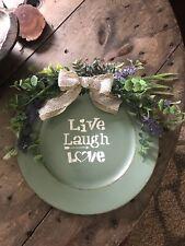 Handmade Charger Plate Door Hanger