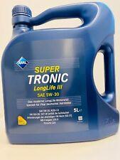 5 L LITER ARAL SUPERTRONIC SUPER TRONIC LONGLIFE III 3 5W-30 MOTOR-ÖL MOTOREN-ÖL