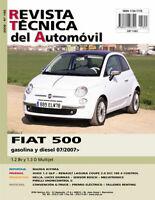 MANUAL DE TALLER FIAT 500 1.2 8V / 1.3 D MULTIJET DESDE 07/2007 Nº185