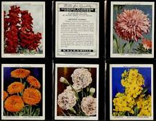 More details for full set, wills, garden flowers - new varieities (l) a