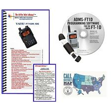 Yaesu FT-1XD Radio Acc. Bundle -- w/ Nifty! Mini Man. & RT Systems Prog. Kit!!