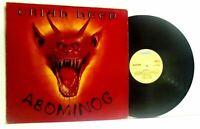 URIAH HEEP abominog LP EX/VG-, BRON 538, vinyl, album, uk, 1982, hard rock, prog