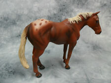 CollectA NIP * Chestnut Appaloosa Stallion * #88436 Model Horse Figurine Toy