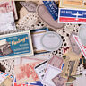 60Pcs/Box Retro Multi-function Paper Sticker Decor Diary Scrapbooking Labels t