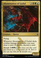 4x Abomination of gudul | nm/m | Khan of tarkir | Magic mtg