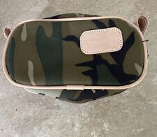 Jon Hart Camo cosmetic travel bag