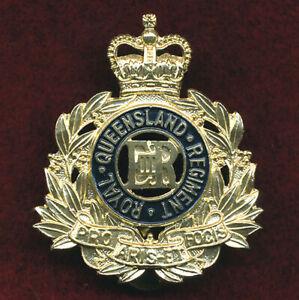 RQR Hat Badge (60/85) Militaria