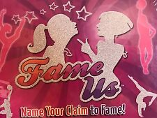Fame Us Board Game 2012 Name Your Claim To Fame New Sealed
