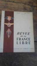 revue de la France Libre n° 5  mars 1947