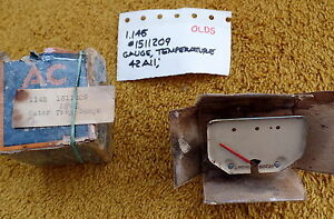 1942 Oldsmobile Temperature Gauge NOS 1511209