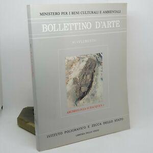 BOLLETTINO D'ARTE Archeologia subacquea 3 Ist. Poligrafico dello Stato 1987