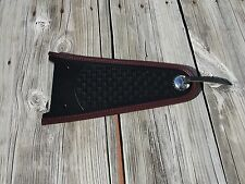 Heritage Springer Fender bib Cover FLSTS Burgundy
