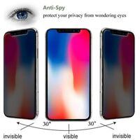 iPhone XS Max/XR/XS/11 Anti-Spy Tempered Glass Screen Protector Film HD Privacy