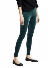 New Spanx Velvet High Waist Leggings Size M Medium Malachite Green