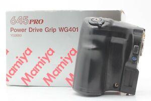 [Near Mint in Box] Mamiya 645 M645 Winder Grip WG401 For Super Pro TL Japan
