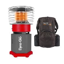 Dyna-Glo 10K BTU HeatAround 360 Portable Recreational Heater with Carrying Case