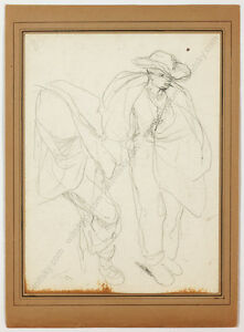 """Charles Hermans (1839-1924) """"Sketch"""", late 19th century"""