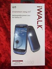 iWalk Chameleon easy G3 Samsung Galaxy S3/S3 LTE 2800 Rechargeable Power Case