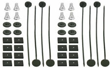 Electric Radiator Fan Tie Strap Mounting Kit 2 Pack Zip Ties Straps Tabs Springs
