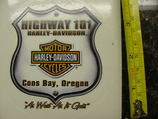 HARLEY DAVIDSON*VANCOUVER,WASHINGTON*COLUMBIA HD*4 BY 4 INCH*DEALER*DECAL