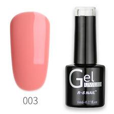 R.S Nail UV Gel Polish LED Varinish Soak Off One Step Gel No Need Base/Top Coat