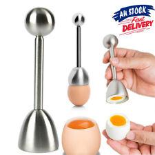 Topper Kitchen Boiled Stainless Steel Cracker AZ Egg Separator Gadget Cutter