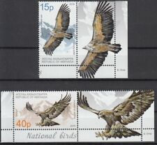 ABKHAZIA  2019 EUROPA CEPT NATIONAL BIRDS .SET 2 STAMPS WITH VIGNIETTE MNH