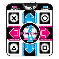 USB Non-Slip Dancing Step Dance Mat Pad for PC TV AV Video Household Game