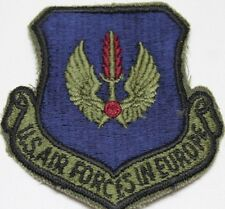 US Airforces in Europe patch subdued each P1820