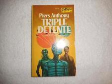 PIERS ANTHONY Triple Detente 1974 DAW SF 1st PRINT ORIG PB NICE