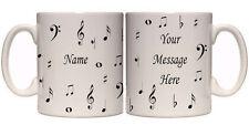 MUSIC NOTES PERSONALISED MUG (I2) OTHER MUGS MUGS AVAILABLE