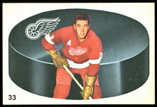 1962 Parkhurst #33 Marcel Pronovost, Detroit Red Wings.  ExMt