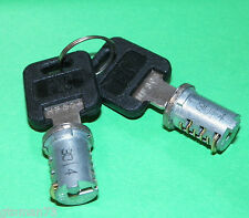 *NEW* 2 SETS FIC REPLACEMENT DUAL CYLINDERS WITH KEYS HF311 RV LOCK MOTERHOME