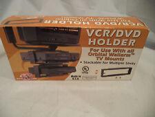 Orbital 31121 Standard Wall Mount -  VCR/DVD Holder-black