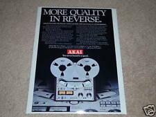 Akai GX-635D Open Reel Ad,Specs,Article, Nice Ad!
