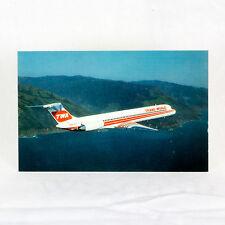 TWA - MD-80 - Aircraft Postcard - Top Quality