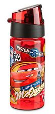 Disney Store Cars Lightning McQueen Tow Mater Luigi Guido Water Bottle New